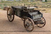 Old Mining Wagon 01