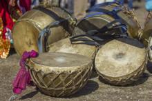 Indian Dhol And Nagara Drums