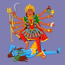 Statue Of Indian Goddess Maa K...