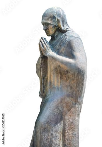 Fotografia, Obraz Sculpture of Mother Teresa