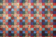Patchwork Texture Tiles Backg...