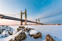 The Yangmingtan Bridge In Winter