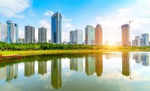 Skyscrapers In Hainan Island, ...