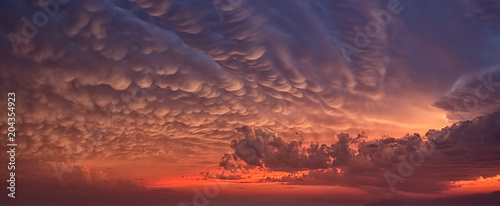 Canvas Prints Heaven Apocalyptic clouds in the sky.