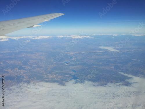 Photo Aereo in volo