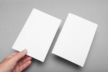 Paper Flyer A5 Mockup, Invitat...