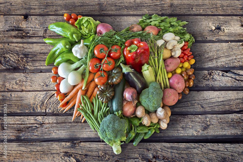 Fototapety, obrazy: Gemüseherz