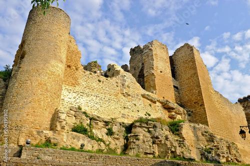 ruine château chabrillan Poster
