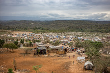 Flüchtlingsdorf In Haiti
