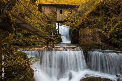 Hell´s Mill (Infernuko Errota) in Baztan valley, Navarra, Spain