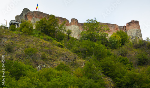 Foto op Aluminium Historisch geb. Photo of real castle of Dracula which is landmark