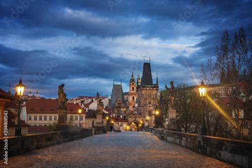 Staande foto Praag Panoramic view to Prague Czech Republic