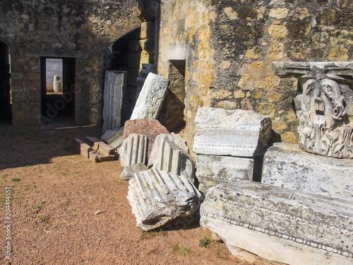 Ruinas del templo romano de Córdoba / Ruins of the Roman temple of Cordoba