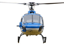 The Front Side Of The Helicopter