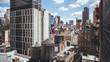 New York, USA / Rooftops in Manhattan