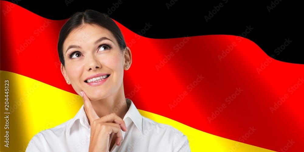 Fototapeta German.