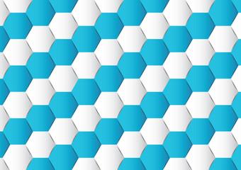 Abstract hexagon polygonal background vector illustration