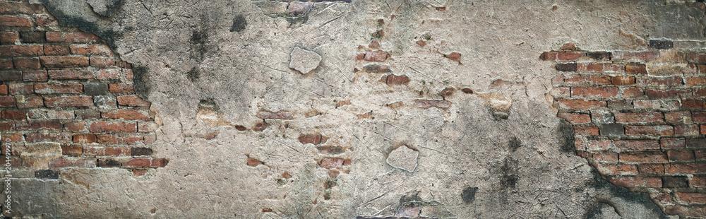 Fototapeta Old brick wall texture background