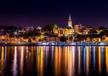 Belgrade Dock And Church 5