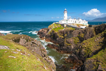 Fanad Head Lighthouse On A Sun...