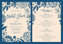 Bridal Shower Invitation And M...