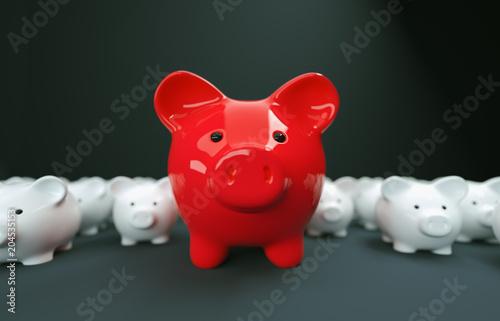 Papiers peints Pays d Afrique Piggy Bank save money investment