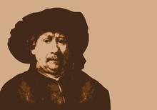 Rembrandt - Peintre - Portrait...