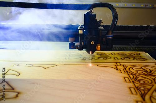 Fototapeta laser obraz