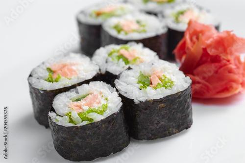 Foto op Plexiglas Sushi bar tasty sushi
