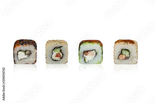 set of japanese sushi