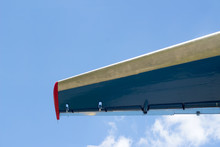 The Tail Unit Of The Aircraft