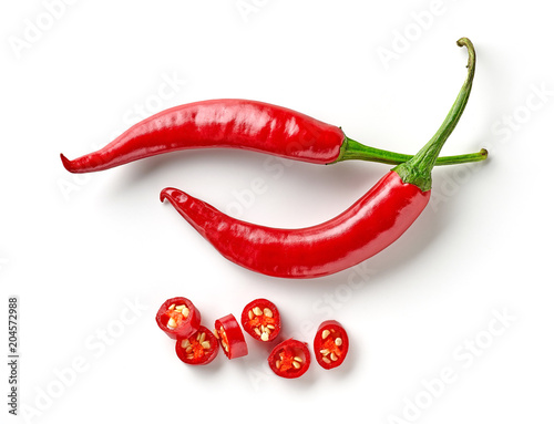 Tuinposter Hot chili peppers red hot chili pepper