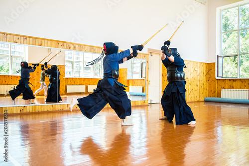 Garden Poster Martial arts Japanese martial art of sword fighting