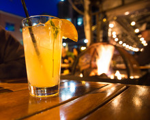 Refreshing Cocktail Beverage W...
