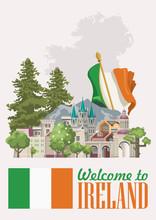 Ireland Vector Illustration Wi...