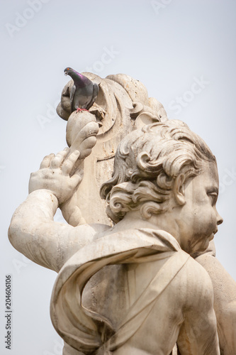 Foto op Canvas Historisch mon. La Fontana dei putti