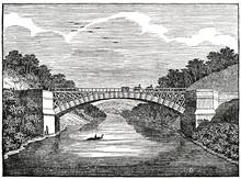 Satinwood Bridge Over The Maha...