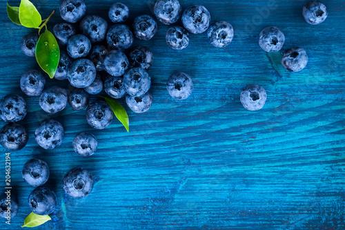 Fresh blueberry Fototapete