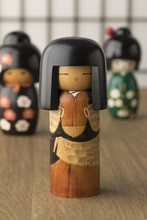 Traditional Japanese Kokeshi Dolls