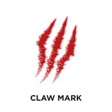 Claw Mark Logo Isolated On Whi...