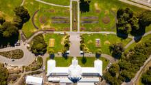 San Francisco Botanical Garden On A Sunny Day
