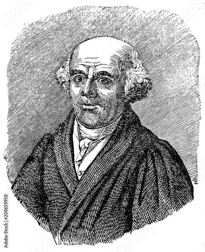Fényképezés  Samuel Hahnemann, German physician, best known for creating the system of altern