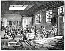 Interior Of London Mint Or Roy...