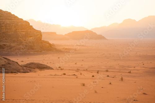 Ingelijste posters Midden Oosten Wadi Rum, Jordan.