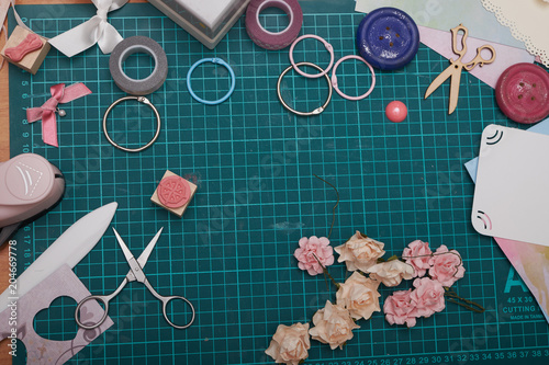 Scrapbooking Crafts Creativity Paper Scissors Paper Clips