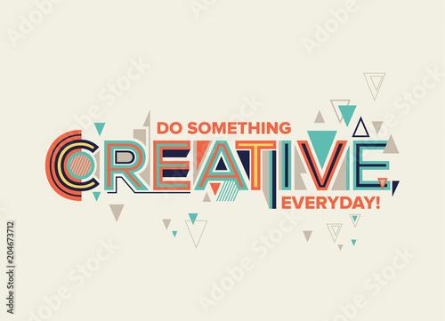 Fototapeta Creative