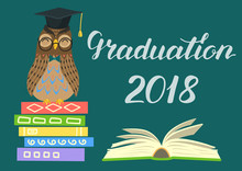 Graduation 2018. Wise Owl On S...
