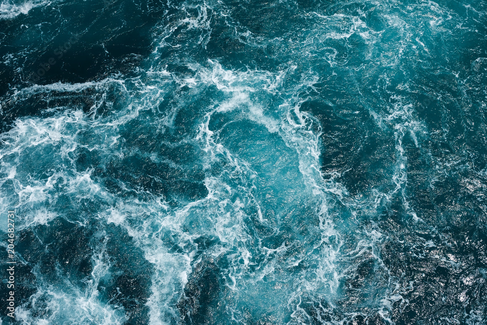 Fototapety, obrazy: hazardous swirl on the mediterranean sea