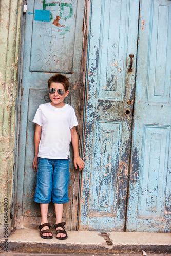 Poster Havana Outdoors boy portrait