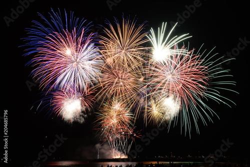 Fotografie, Obraz  Fireworks La-grande-motte
